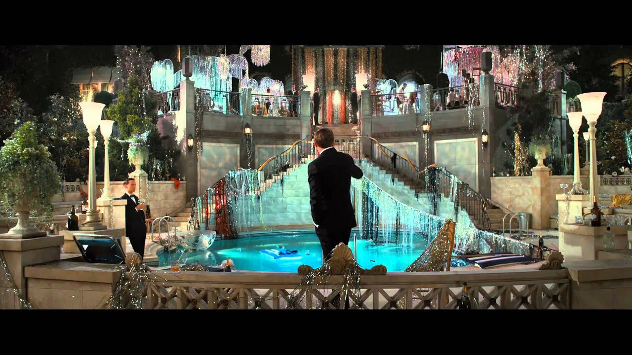 The Great Gatsby Movie... Tobey Maguire
