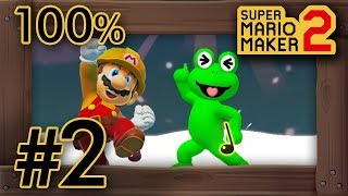Super Mario Maker 2 - Story Mode Part 2 - 100% Walkthrough