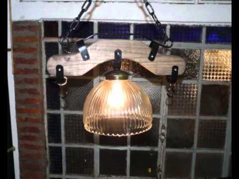 Iluminacion estilo campo en argentina youtube - Lamparas de techo hechas en casa ...