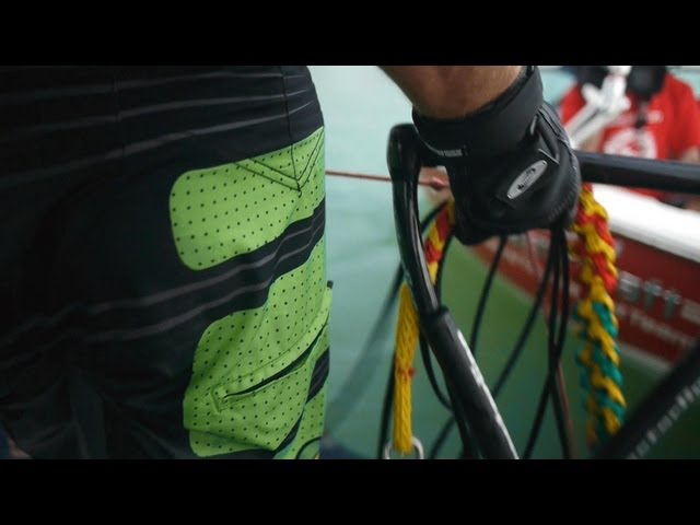 Pro Mens trick ski final - IWWF world Cup Palembang 2013