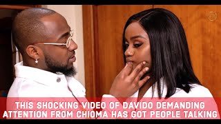 Davido's Naughty Demand Rejected by Chioma & Why People Are Reacting To The Sad Video