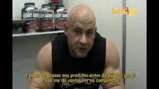 Branch Warren-Entrevista exclusiva Expo Nutrition SP 2012