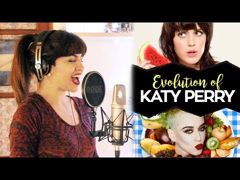 EVOLUTION OF KATY PERRY! (Impressions)