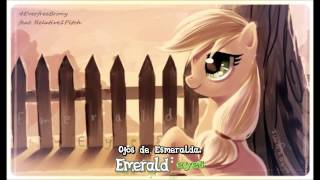 [4everfreebrony - Emerald Eyes (ft Relative Pitch)] Subtitulada Español - Ingles 1080p