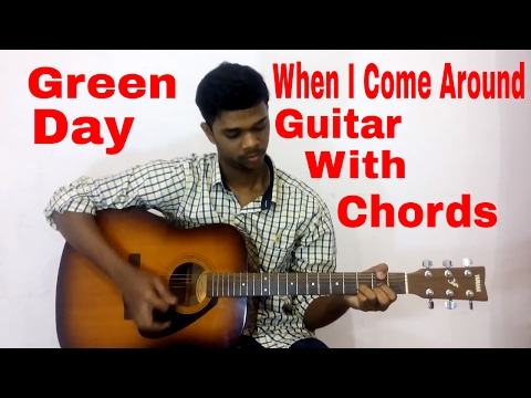 Green Day - When I Come Around (Guitar Cover with Chords)