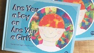 NEW Trans / Non Binary Kid's Book