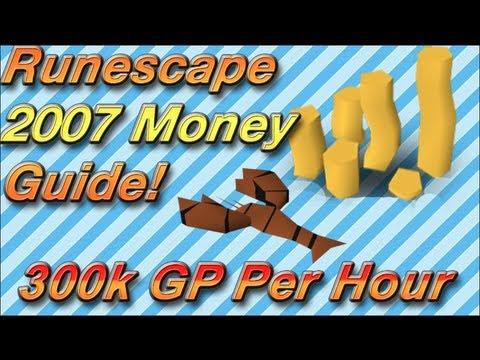 Runescape 2007 Money Making Guide | Merchanting | 300k GP Per Hour | Raw Lobsters