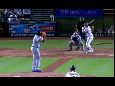 Chris Owings a game-tying three-run homer