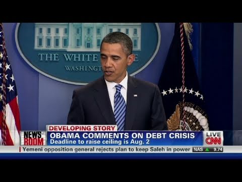 CNN: Obama ready to compromise on debt deal