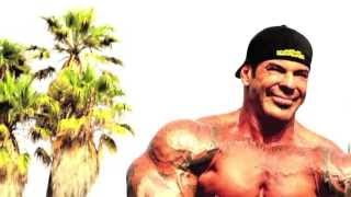 Rich Piana training at the pit in Venice beach Cali- No place better!!!