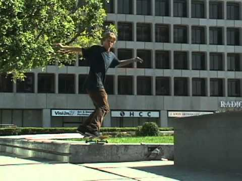 ON THE TURF w/ JJ RICE - FS TAIL BIGFLIP WILSHIRE GAP LEDGE