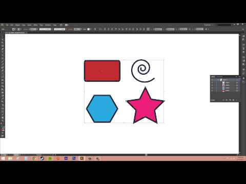 Adobe Illustrator CS6 for Beginners - Tutorial 29 - Using the Selection Menu