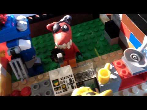 Мультик 5 ночей с Фредди в Лего с русской озвучкой