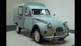 Citroën 2 CV AK400 1970-VIDEO- www.ERclassics.com