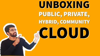 Introduction to Cloud Computing and difference between public,private,hybrid,community cloud