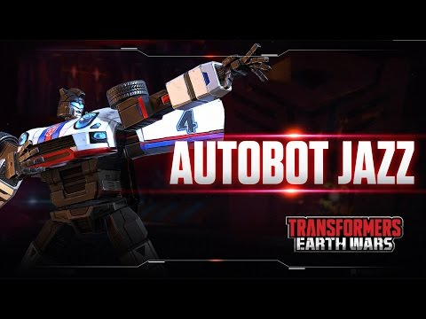 Character Spotlight: AUTOBOT JAZZ- Transformers: Earth Wars DOWNLOAD Now!