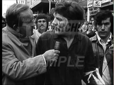 Vietnam War Protests - Melbourne, Australia  1971