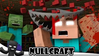Monster School DEATH TRAPS - Spider Life 1 - NullCraft Minecraft Animations