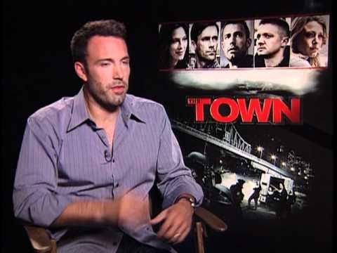 """Ben Affleck Talks About Directing """"The Town"""""""