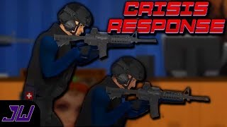 THE WORST SWAT MEMBER! | Crisis Response (Blood and Bullets)