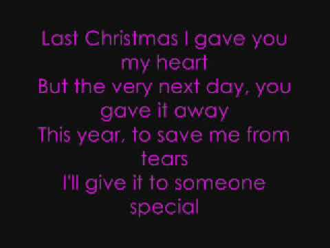 Paroles Last Christmas - Taylor Swift