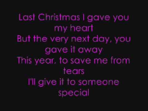 last christmas lyrics taylor swift youtube