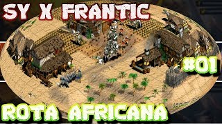Age of Empires 2 HD ECL SY x Frantic Game 03 AoE2HD Gameplay PT BR