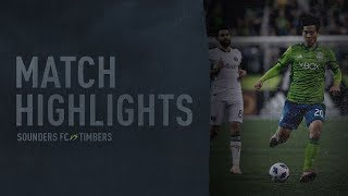 HIGHLIGHTS: Seattle Sounders FC vs Portland Timbers | Leg 2 West Conf Semifinals | Nov 8, 2018