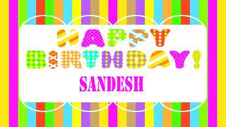Sandesh Wishes & Mensajes - Happy Birthday