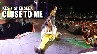 Kes feat. Shenseea - Close To Me Live | Tuesday On The Rocks 2019