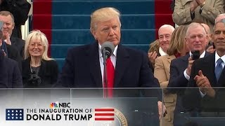 President Donald Trump's Inaugural Address (Full Speech) | NBC News