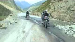 Royal Enfield Himalayan Odyssey 2012 - Day 7 - 29th June 2012 - Riding into Sarchu