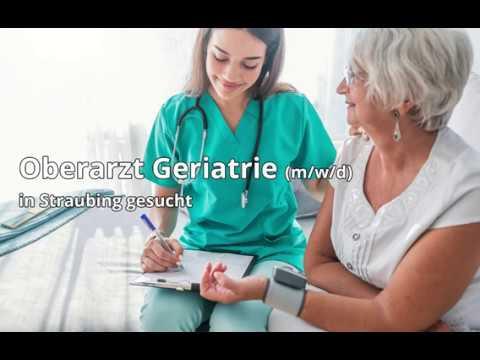 Oberarzt/-ärztin Geriatrie in Straubing, gesucht: