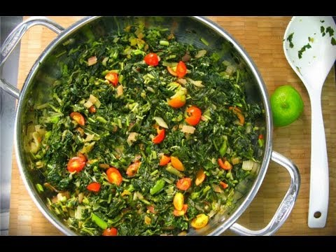 How to Make Callaloo images