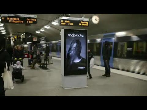 Anuncios publicitarios camuflados en el paisaje urbano