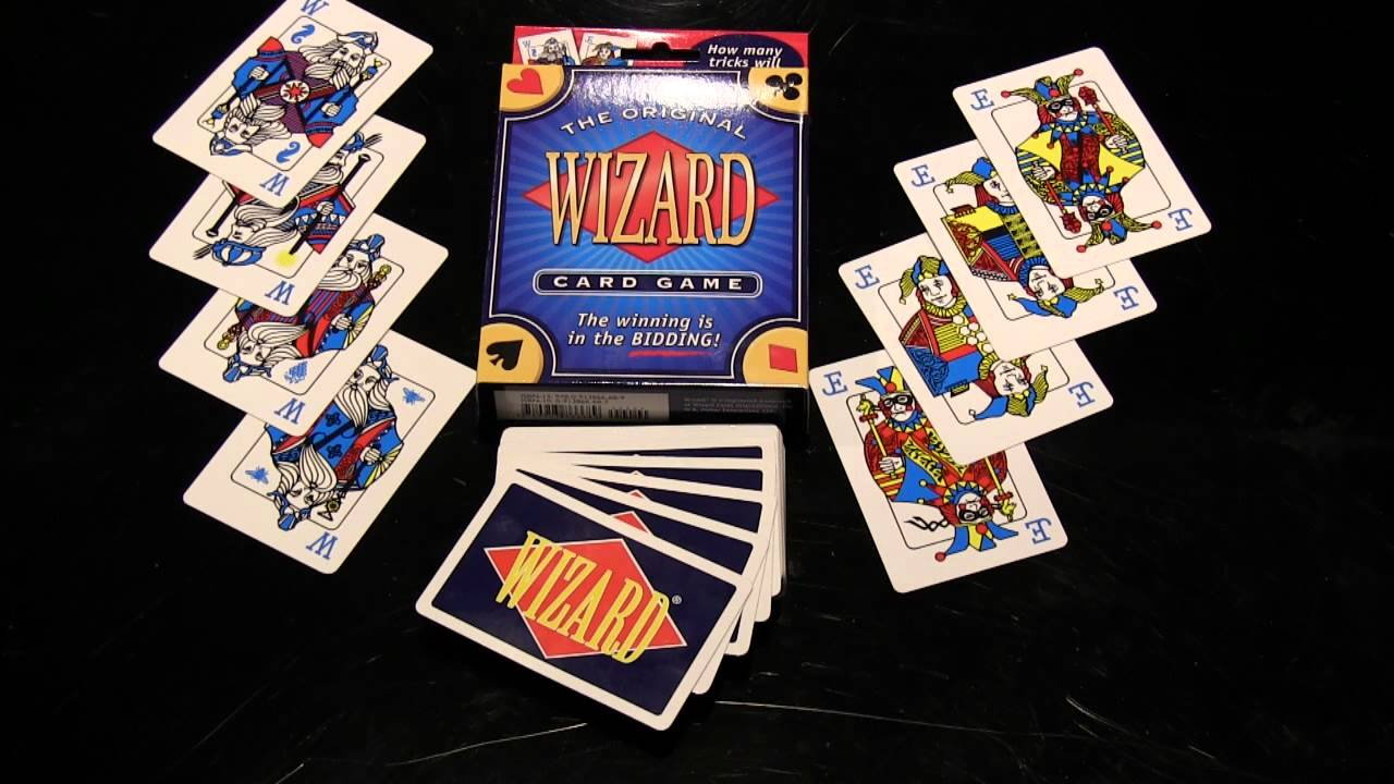 Wizard Card Game 101(1/3