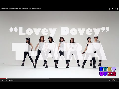 開始Youtube練舞:Lovey Dovey-T-ara | Dance Mirror