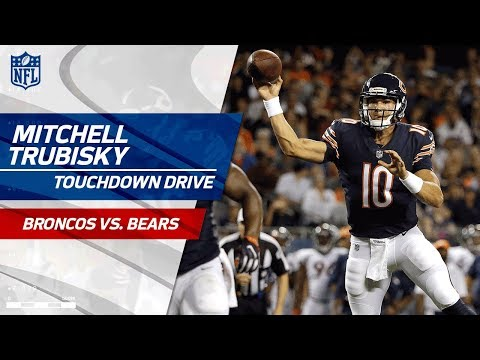Mitchell Trubisky S First Career Td P Goes To Victor