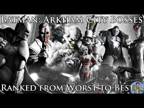 Ranking the Batman Arkham City Bosses from Worst to Best