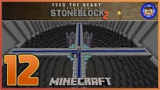 StoneBlock 2 Modpack Ep 12 - Brand New ME System Room  - Modded Minecraft