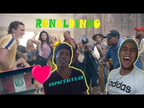 Shootout with Ronaldinho at Nicky Jam World Cup Video Shoot