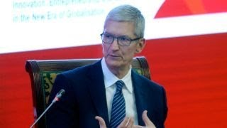 Apple's Tim Cook overly concerned about regulatory environment?