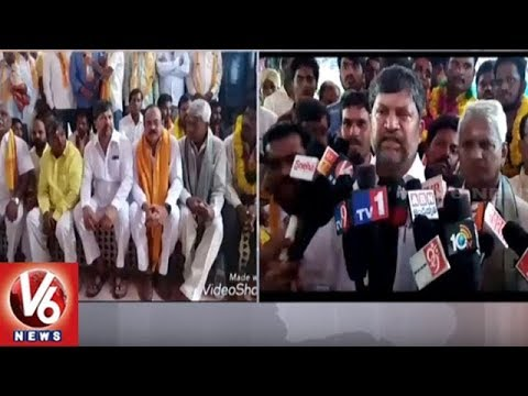 TTDP President Ramana Visits Nalgonda Dist, Demands Govt To Create Gattuppal Mandal | V6 News