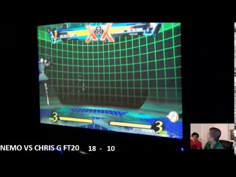 UMVC3 Nemo (Japan) vs Chris G (USA) FT20 for $6000 at EVO 2013