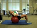 Partial SitUps Over Ball