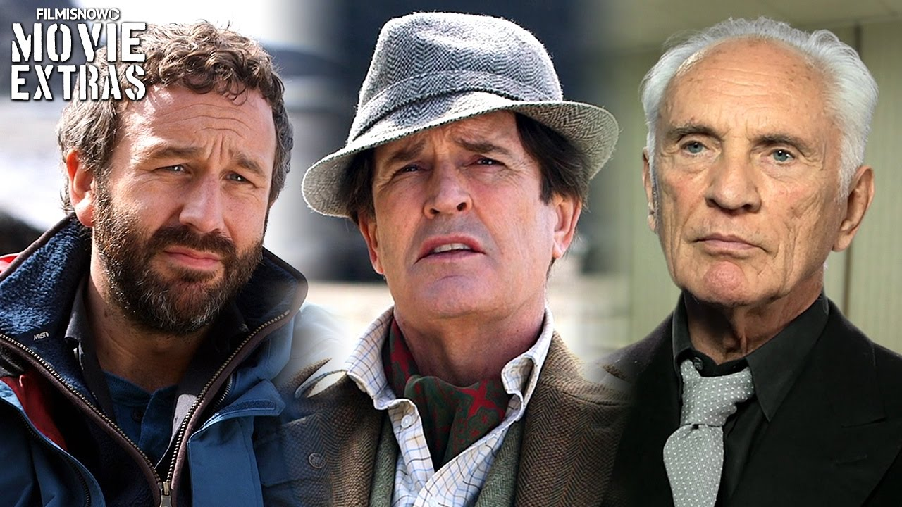 Miss Peregrine's Home For Peculiar Children | On-set - Chris O'Dowd, Rupert Everett & Terrance Stamp