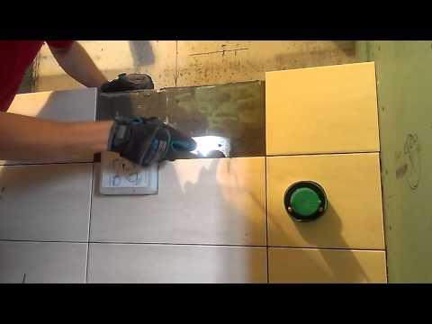 Видео как аккуратно снять плитку