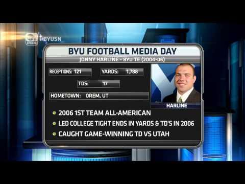 VIDEO: Jonny Harline BYU Sports Nation Interview   June 23, 2015
