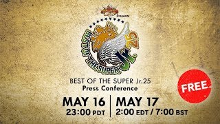 【Live】'BEST OF THE SUPER Jr. 25' Press Conference