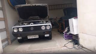FSO Polonez 1.6 SLE cold start after 5 months in garage with a newly installed starter